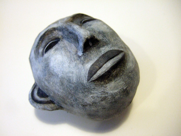 ". ""Happily Unhappy"" group show, Blanc Compound, Philippines, 2010, polymer clay and acrylic paint"