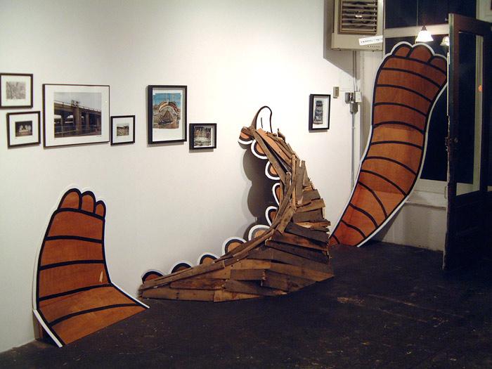 . curated by Jordin Isip, Riviera, Brooklyn, NY, January 13- 30, 2005