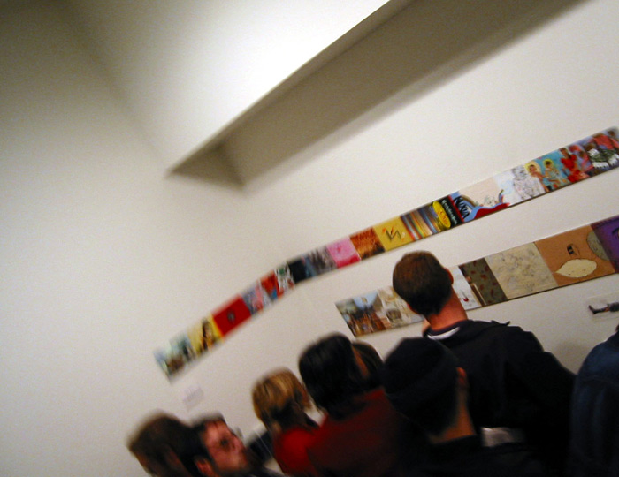 . curated by Jordin Isip and Rodger Stevens, opening reception, Plus Ultra, Brooklyn, NY, November 16, 2001